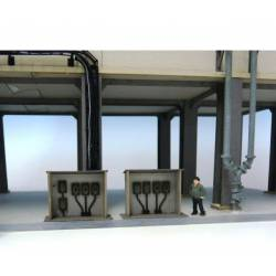 Cuadros eléctricos (x3). JOSWOOD 40134