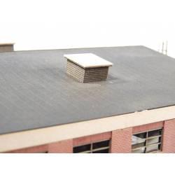 Modern rooftop ventilation.