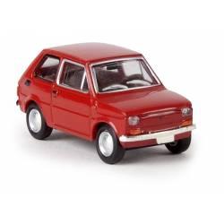 Fiat 126, rojo. BREKINA 22351
