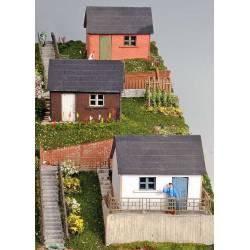 Garden houses.