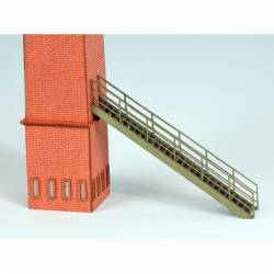 Escaleras exteriores. JOSWOOD 40001