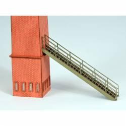 Industrial stair.