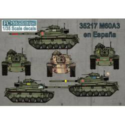 Decal set: M60. FCMODELTIPS 35217