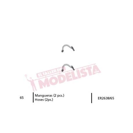 Hoses for RENFE 269. ER2638/65