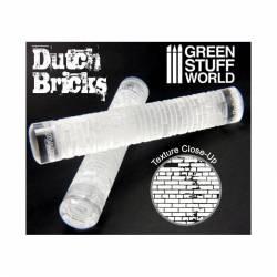 Rolling pin dutch bricks. GREEN STUFF WORLD 363360