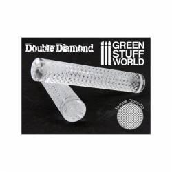 Rodillo: doble diamante. GREEN STUFF WORLD 1164