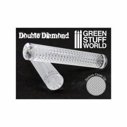 Rolling pin double diamond. GREEN STUFF WORLD 1164