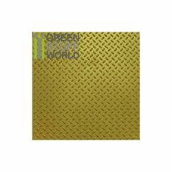 Diamond textured sheet. GREEN STUFF WORLD 1100