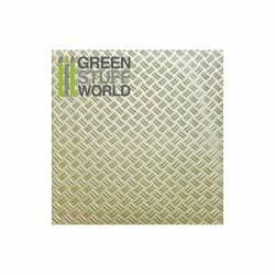 Double diamond textured sheet. GREEN STUFF WORLD 1101
