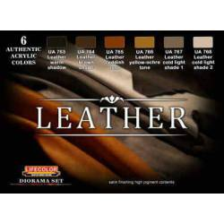 Leather color set. LIFECOLOR CS30