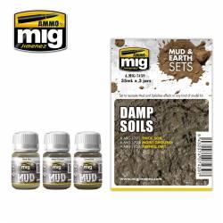 Set: Damp soils. AMIG 7439