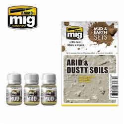 Set: suelos áridos y polvorientos. AMIG 7440