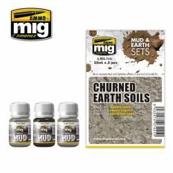Set: Churned earth soils. AMIG 7441