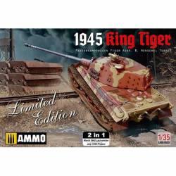 King Tiger torreta Henschel (1945). AMIG 8500
