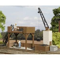 Coal bunker.