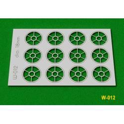 Ventanas, 18 mm. PROSES W012
