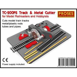 Cortador eléctrico de metales y plástico. PROSES TC-200