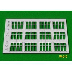 Ventanas, 19x14,5 mm. PROSES W010