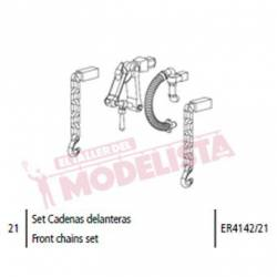 Front chains set for Mikado. ELECTROTREN ER4142/21