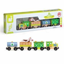 Tren de madera. JANOD 08532