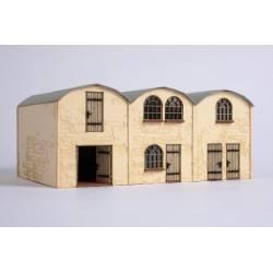 Barrel roof hall building. JOSWOOD 17028