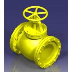 Tubería industrial: válvula, 6,5 mm. JOSWOOD 41021