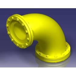Tubería industrial: codo 90º, 6,5 mm. JOSWOOD 41071