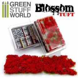 Blossom tufts, red. 6 mm. GREEN STUFF WORLD 363483