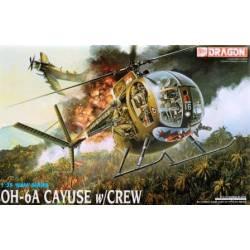 OH-6A Cayuse con tripulación. DRAGON 3310