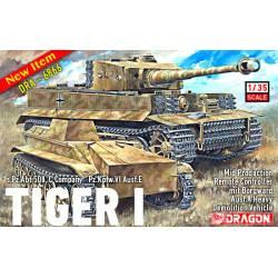 Tiger I y vehículo de demolición. DRAGON 6866