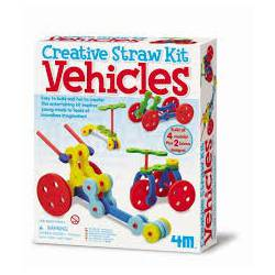 Straw kit vehicles. 4M 00-04625