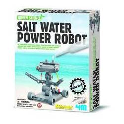 Salt powered robot. 4M 00-03353