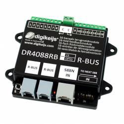 Retromódulo S88, conexión R-BUS. DIGIKEIJS DR4088RB-CS