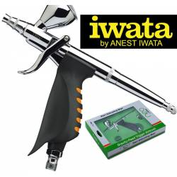 Neo HP-TRN1: Pistola aerográfica 0,35 mm. IWATA N5500