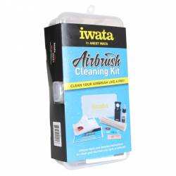 Airbrush cleaning kit. 9 in 1. IWATA CL100