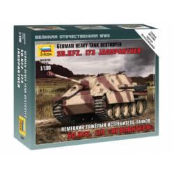 """Destructor alemán Sd.Kfz.173 """"Jagdpanther"""". ZVEZDA 6183"""
