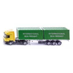 Camión con contenedores. SIKU 3921