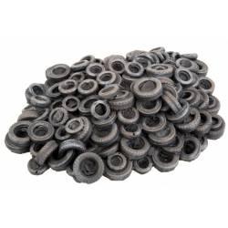 Tire Scrap Pile.