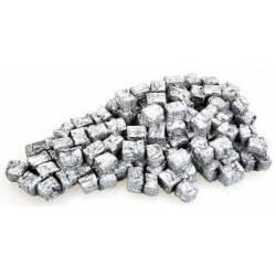 Scrap metal bales.