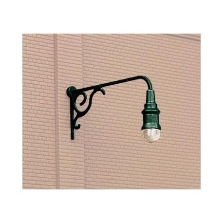 Ornate wall light (x3). WALTHERS 949-4311