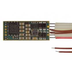 Decoder with sound, 6-pin direct plug, 1.0A. D&H SD10A-1