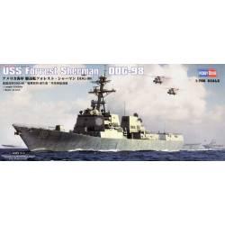 USS Forrest Sherman DDG-98. HOBBY BOSS 83414