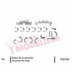 Accessories bag for locomotive 276 RENFE. ER6700J