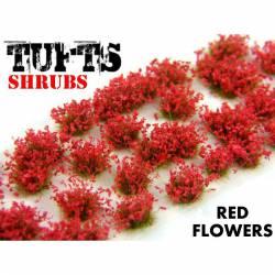 Shrub tufts, red. 6 mm. GREEN STUFF WORLD 363667