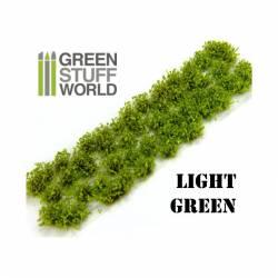 Shrub tufts, light green. 6 mm. GREEN STUFF WORLD 363056