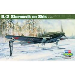 IL-2 Sturmovik on Skis. HOBBYBOSS 83202