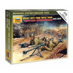 Soviet anti tank team. ZVEZDA 6135