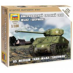 Sherman M4A2. ZVEZDA 6263