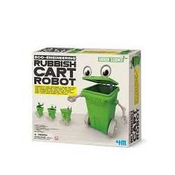 Robot-contenedor de basura. 4M 00-03371