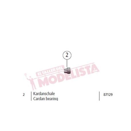 Cardan bearing, RENFE 307. ROCO 87129